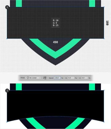 emblem design text