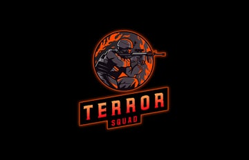 Terror Squad Gaming Emblem Design