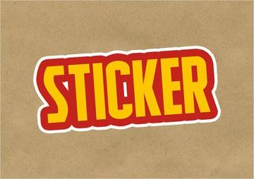 sticker photoshop pattern