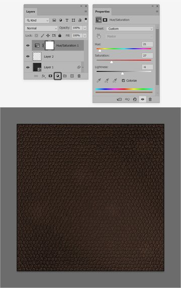 leather texture color