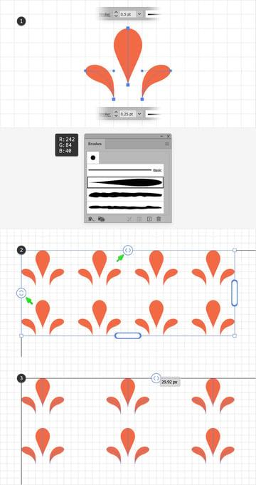 repeat grid illustrator