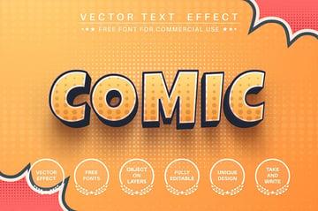 comic 3D text illustrator