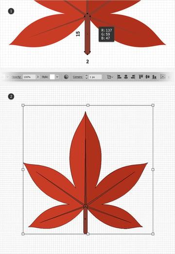 red leaf design group