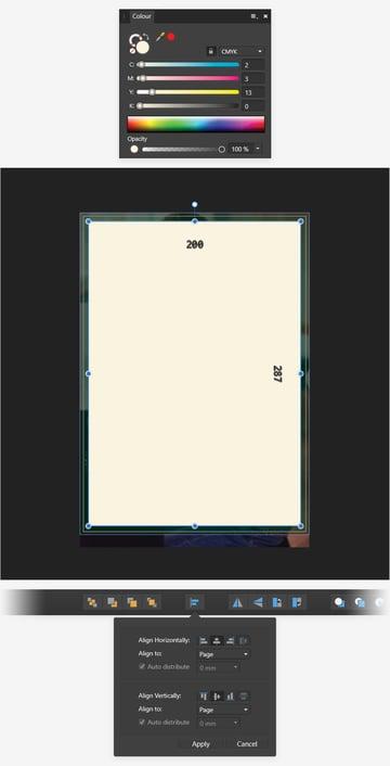 rectangle center