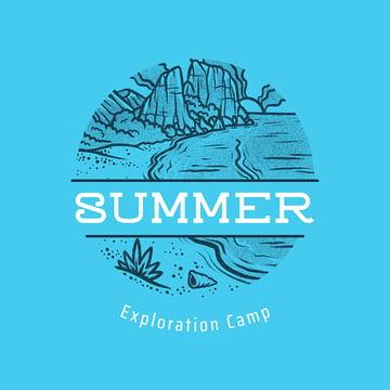 old camp logo