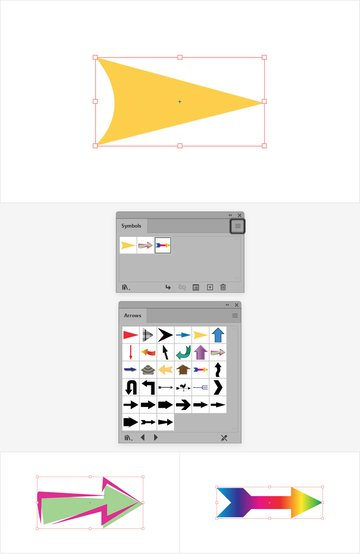 illustrator arrow symbol