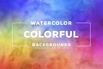 colorful watercolor background