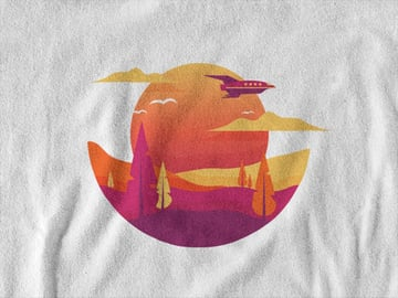 t-shirt template
