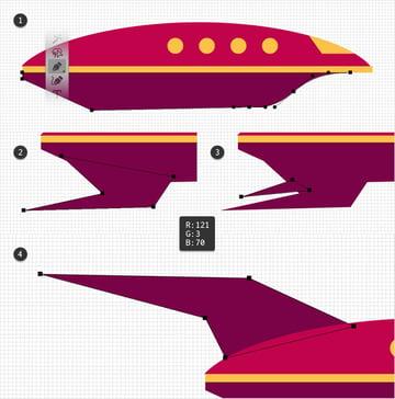 pen tool vector shapes