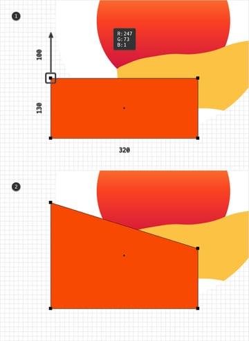 rectangle orange