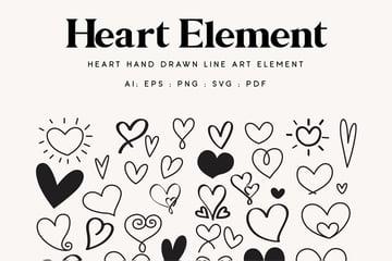 illustrator heart shapes