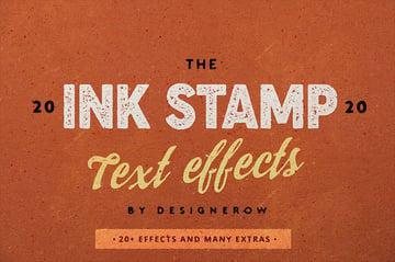 photoshop letterpress effect