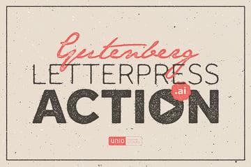 illustrator letterpress effect