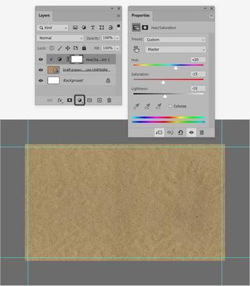 kraft paper texture color