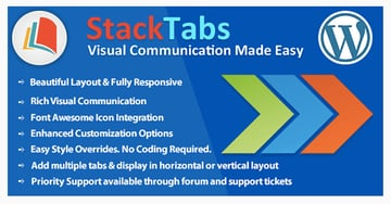 StackTabs for WordPress