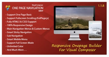 Smart One Page Navigation - Addon For Visual Composer