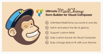Ultimate MailChimp Form Builder for Visual Composer