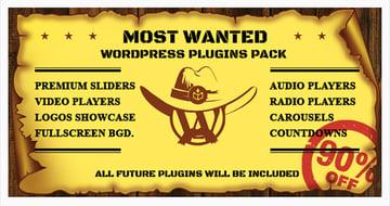 Paquete con los plugins de WordPress más deseados