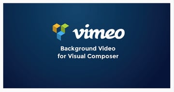 Vimeo Background Video for Visual Composer