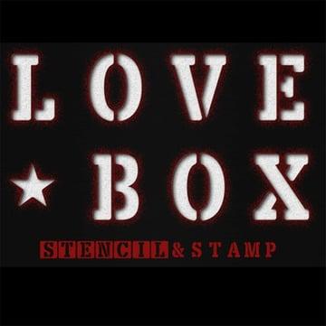 Lovebox Stencil Fonts
