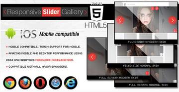 HTML5 Responsive Slider Gallery