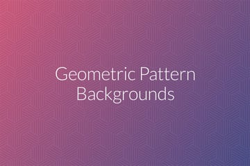 Geometric Pattern Backgrounds