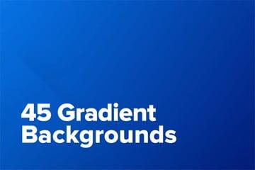 45 Gradient Backgrounds