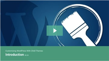Customizing WordPress With Child Themes