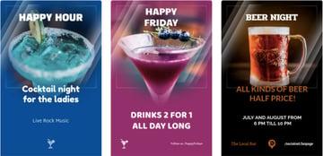 Online Flyer Maker for Drink Promos