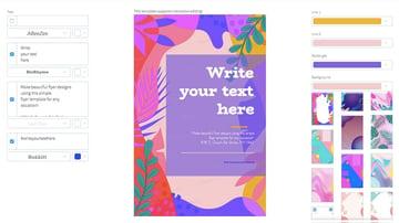 Online Flyer Maker for Artistic Designs
