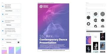 Contemporary Dance Flyer Maker