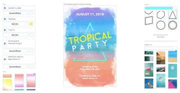 DJ Beach Parties Flyer