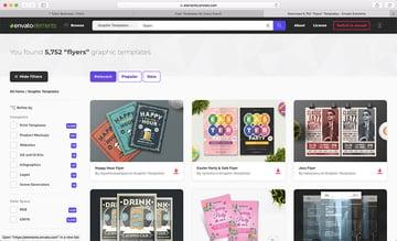 online flyer template designs