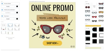 Online Banner Maker for Discount Eyewear
