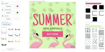 Summer Online Banner Maker