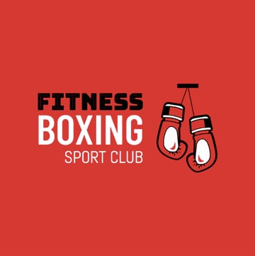 Boxing Logo Maker for a Sports Club