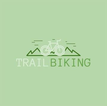 Mountain Bike Logo Creator for a Cycling Club