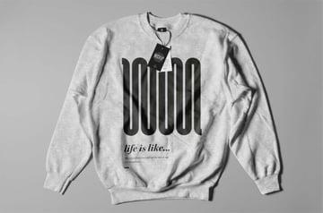 Crewneck Sweatshirt Mockup