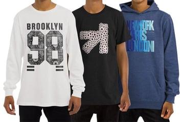 T-Shirt Longsleeve Sweatshirt Hoodie Mockup
