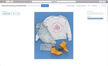 Sweatshirt Mockup Template