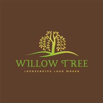 Multicolor Template for Landscaping Services Logo