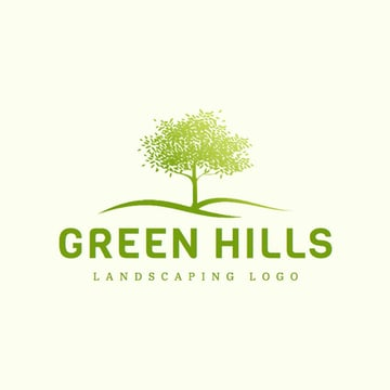 Gardening Services Logo Maker with a Tree Image