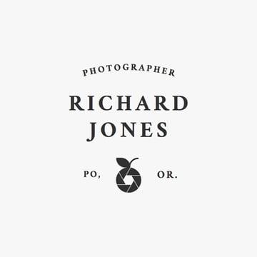 Logo Design Template for Photographer