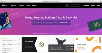 Placeits Business Card Maker