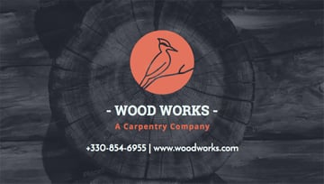 Business Card Templates for Carpenters and Handymen