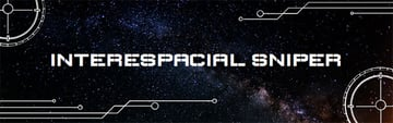 Twitch Banner Design Template with Milky Way Background