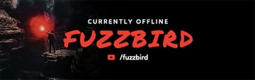Twitch Banner Template with Custom Gaming Designs