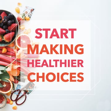 Healthy Lifestyle Social Media Post Template