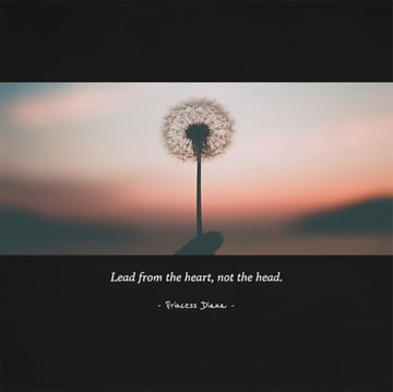 Instagram Quote Post Maker with Dandelion Image