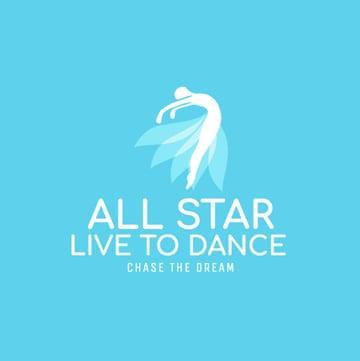 Custom Logo Maker for Dance Studios